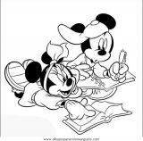Dibujos para colorear minnie (6/8)