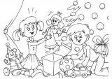 Dibujos de Navidad para colorear (1/365)