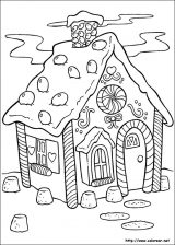 Dibujos de Navidad para colorear (3/365)