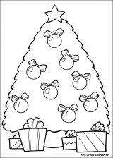 Dibujos de Navidad para colorear (4/365)