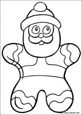 Dibujos de Navidad para colorear (8/365)