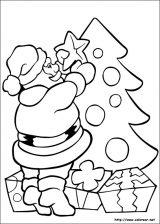 Dibujos de Navidad para colorear (12/365)