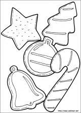 Dibujos de Navidad para colorear (15/365)