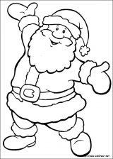 Dibujos de Navidad para colorear (16/365)