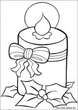 Dibujos de Navidad para colorear (21/365)