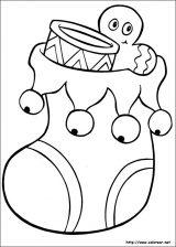 Dibujos de Navidad para colorear (25/365)