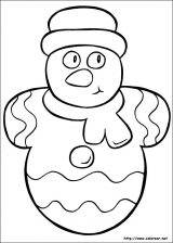 Dibujos de Navidad para colorear (26/365)