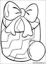 Dibujos de Navidad para colorear (33/365)