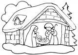 Dibujos de Navidad para colorear (35/365)