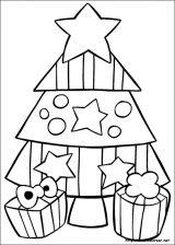 Dibujos de Navidad para colorear (42/365)