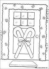 Dibujos de Navidad para colorear (43/365)