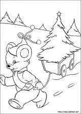 Dibujos de Navidad para colorear (44/365)