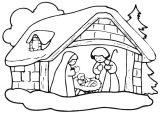 Dibujos de Navidad para colorear (46/365)
