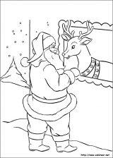 Dibujos de Navidad para colorear (56/365)