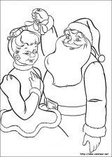 Dibujos de Navidad para colorear (58/365)