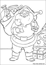 Dibujos de Navidad para colorear (65/365)