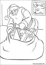 Dibujos de Navidad para colorear (69/365)