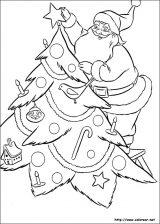 Dibujos de Navidad para colorear (71/365)