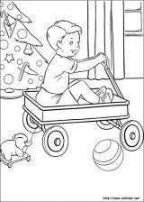 Dibujos de Navidad para colorear (75/365)