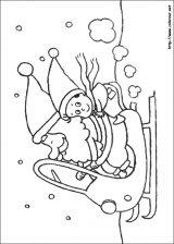 Dibujos de Navidad para colorear (80/365)