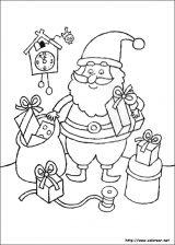 Dibujos de Navidad para colorear (81/365)
