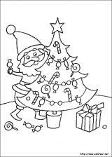 Dibujos de Navidad para colorear (82/365)