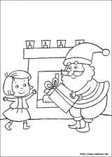 Dibujos de Navidad para colorear (84/365)