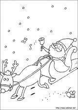 Dibujos de Navidad para colorear (85/365)