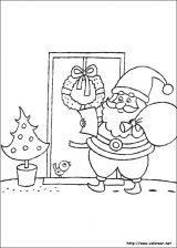 Dibujos de Navidad para colorear (86/365)