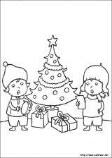 Dibujos de Navidad para colorear (88/365)