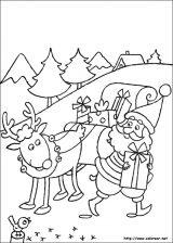 Dibujos de Navidad para colorear (89/365)