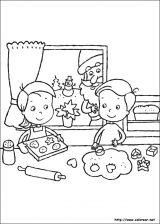 Dibujos de Navidad para colorear (91/365)
