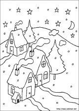 Dibujos de Navidad para colorear (92/365)