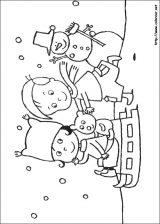 Dibujos de Navidad para colorear (93/365)