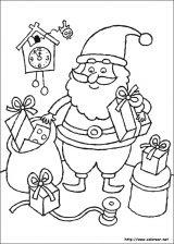 Dibujos de Navidad para colorear (95/365)