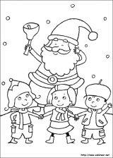 Dibujos de Navidad para colorear (96/365)