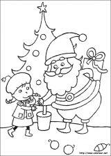 Dibujos de Navidad para colorear (99/365)