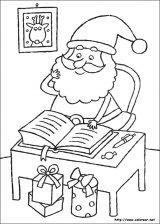 Dibujos de Navidad para colorear (102/365)