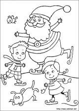 Dibujos de Navidad para colorear (103/365)