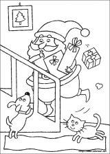 Dibujos de Navidad para colorear (104/365)