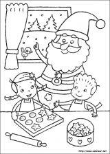 Dibujos de Navidad para colorear (105/365)
