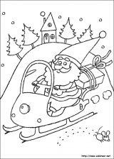 Dibujos de Navidad para colorear (106/365)