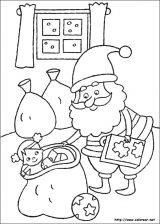 Dibujos de Navidad para colorear (107/365)