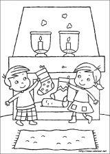 Dibujos de Navidad para colorear (109/365)