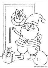 Dibujos de Navidad para colorear (110/365)