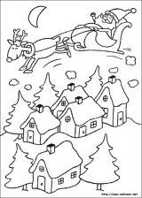 Dibujos de Navidad para colorear (111/365)
