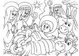 Dibujos de Navidad para colorear (113/365)