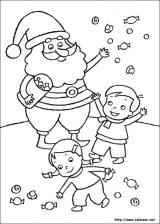Dibujos de Navidad para colorear (114/365)