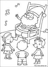 Dibujos de Navidad para colorear (115/365)