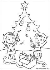 Dibujos de Navidad para colorear (117/365)